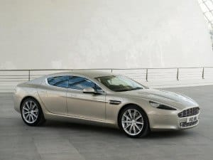 Aston Martin Rapide depuis 2010 - photo Aston Martin