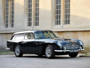 Aston Martin DB5 Shooting Brake 1965 - photo : auteur inconnu DR