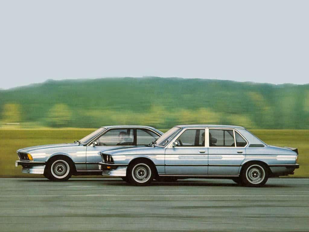 Alpina B7 Turbo berline et coupé 1978 - photo Alpina