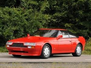 Aston Martin V8 Vantage Zagato 1986-1988 - photo : auteur inconnu DR