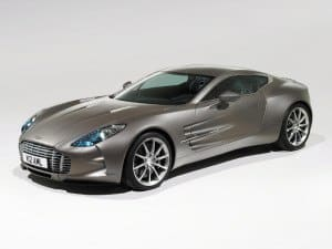 Aston Martin One-77 2009-2012 - photo Aston Martin