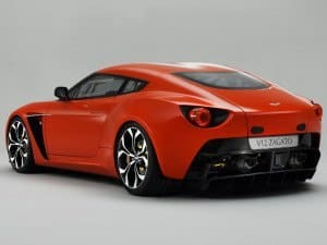 Aston Martin V12 Zagato 2011-2013 - photo Aston Martin