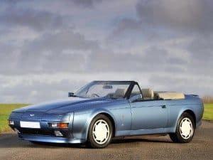 Aston Martin V8 Volante Zagato 1988-1990 - photo : auteur inconnu DR