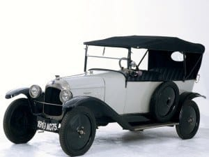 Citroën Type A 1919 - photo Citroën
