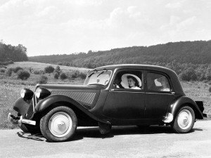Citroën 11 Traction Avant 1948 - photo Citroën