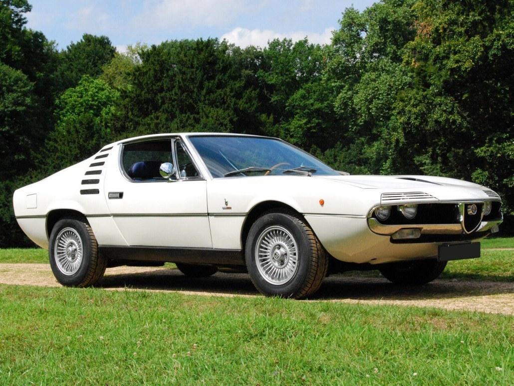 Alfa Romeo Montreal 1970-1977 vue AV - photo : auteur inconnu DR