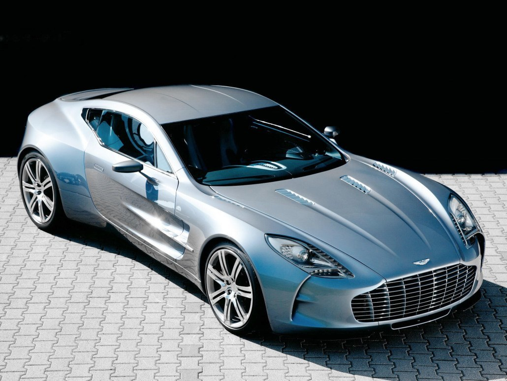 Aston Martin One-77 2009-2012 vue AV - photo Aston Martin