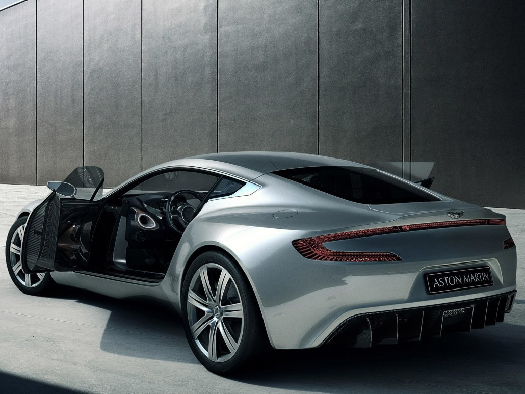 Aston Martin One-77 2009-2012 vue AR - photo Aston Martin
