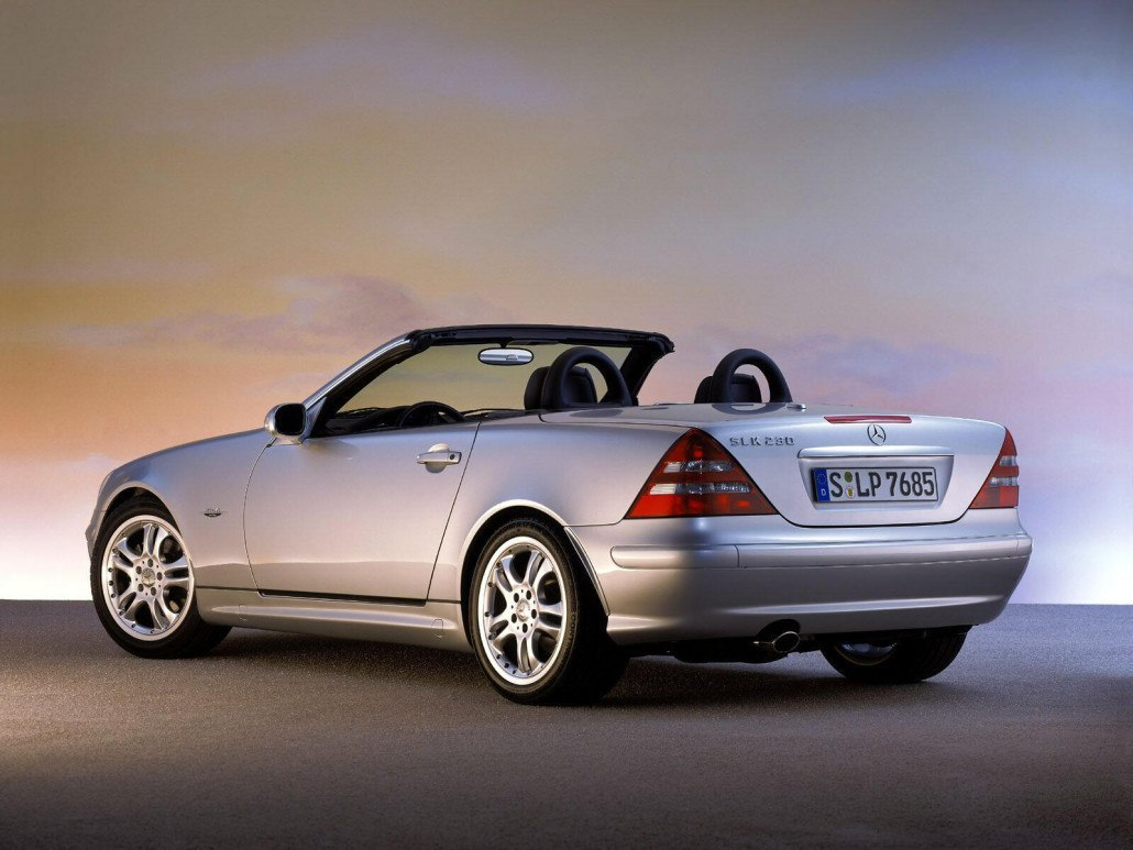 SLK R170 Final Edition 2003-2004 vue AR - photo Mercedes-Benz