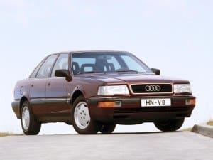 Audi V8 1988-1994 vue AV - photo Audi