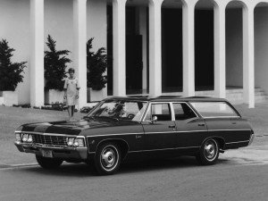 Chevrolet Caprice Station Wagon 1966-1967 - photo Chevrolet