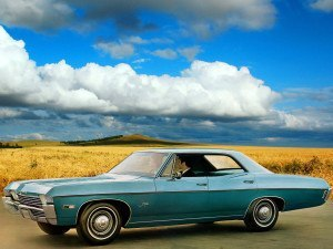Chevrolet Impala 1967-1968 berline hard top 4 portes - photo Chevrolet