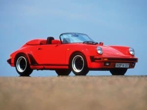 Porsche 911 Speedster Turbo-Look 1989 vue AV - photo Porsche