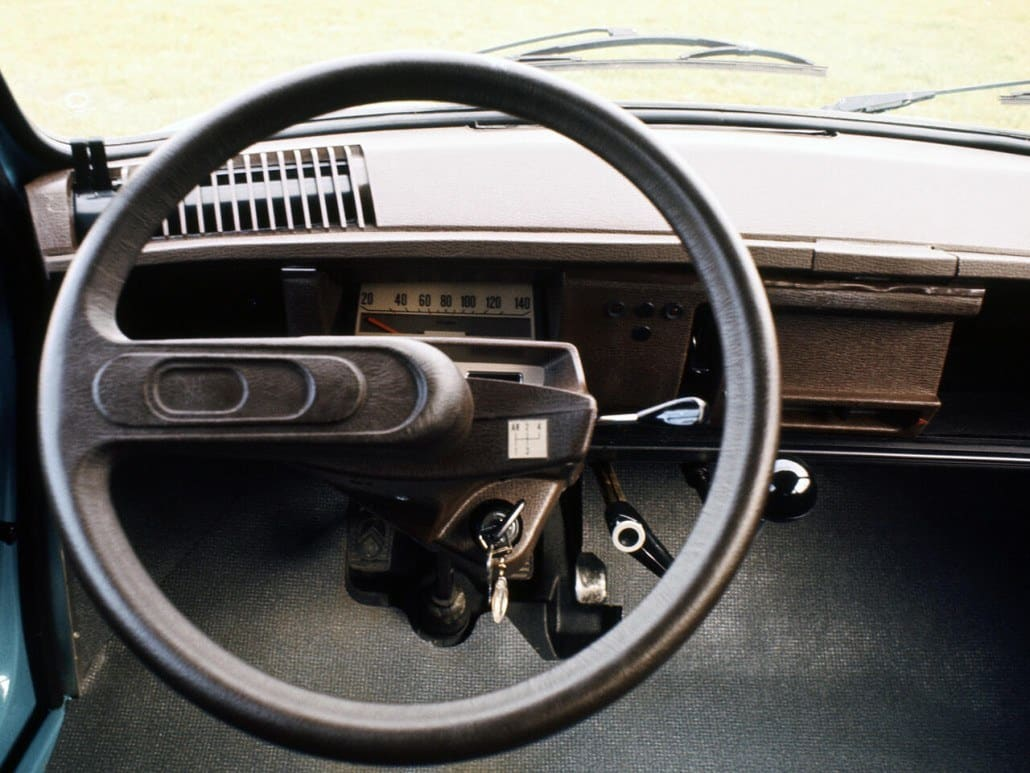 Citro n ami 8 ami super break auto forever for Interieur 2cv