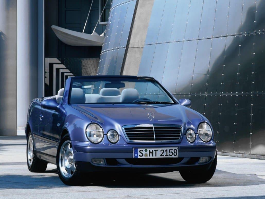 Mercedes Benz Clk A208 Cabriolet Histoire Et Fiche