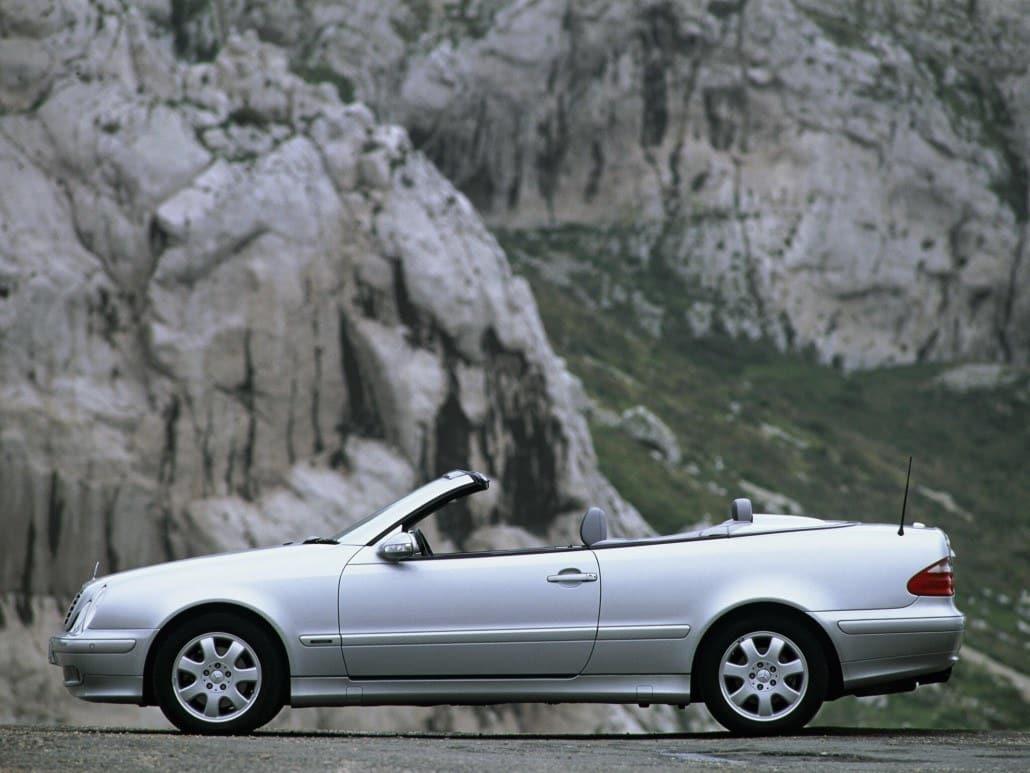 mercedes benz clk a208 cabriolet marque de voiture allemande auto forever. Black Bedroom Furniture Sets. Home Design Ideas