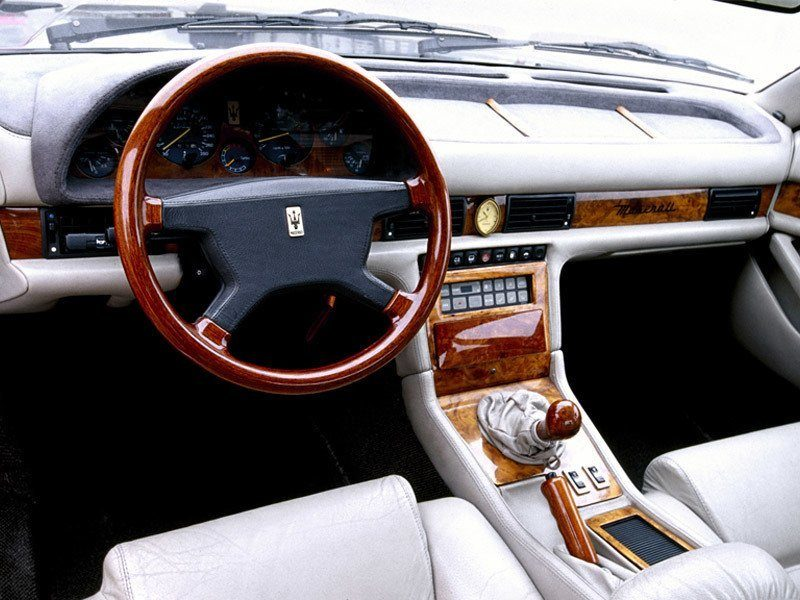 Karif on Maserati Biturbo Spyder
