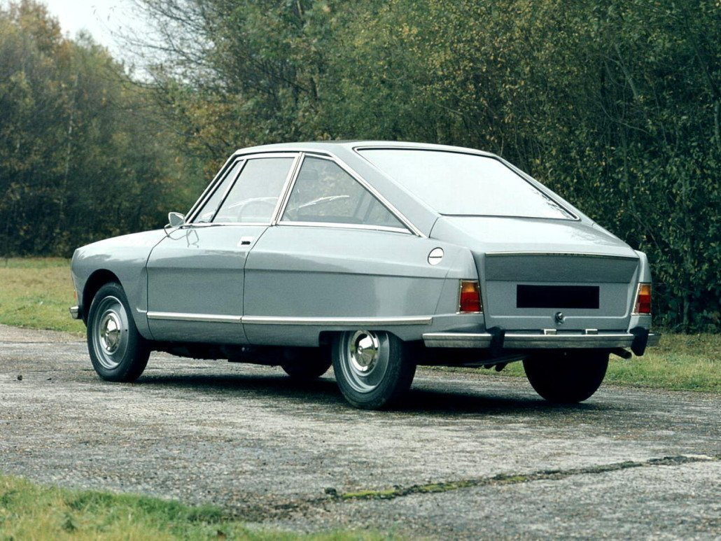 Citroën M35 1969-1971 vue AR - photo Citroën