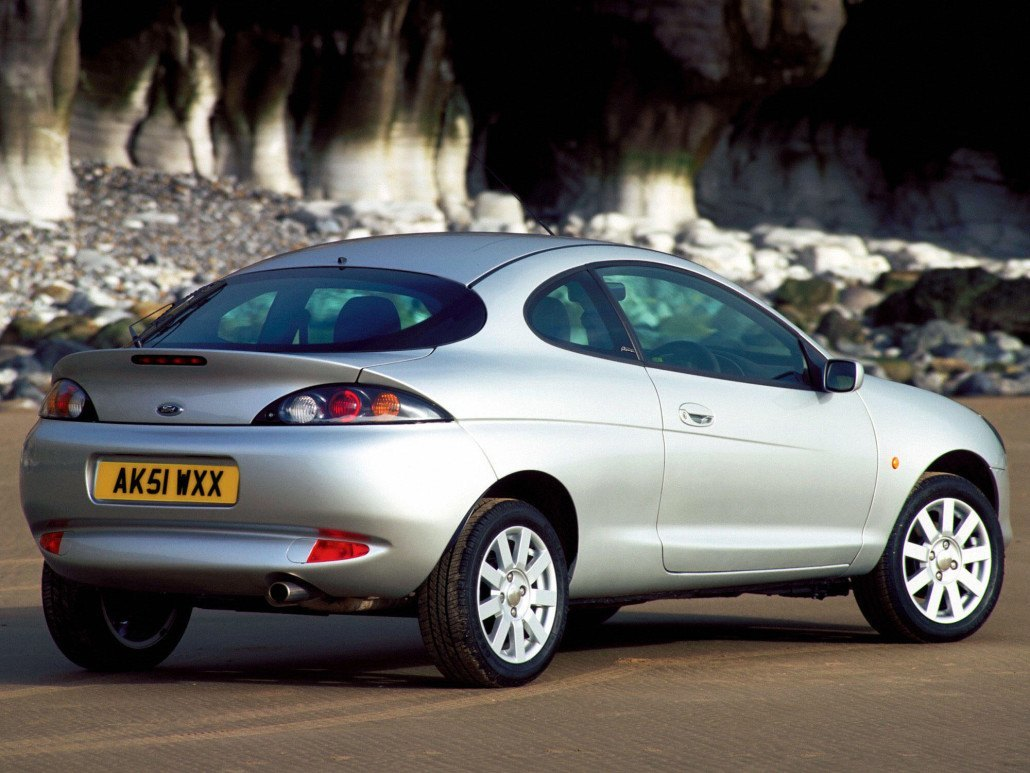Ford Puma 1997-2001 vue AR - photo Ford