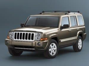 Jeep Commander 2005-2010 vue AV - photo Jeep