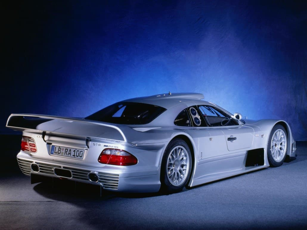CLK-GTR AMG 1998-1999 vue AR - photo Mercedes-Benz