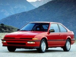 Acura Integra liftback 3p 1988-1989 vue AV - photo Acura