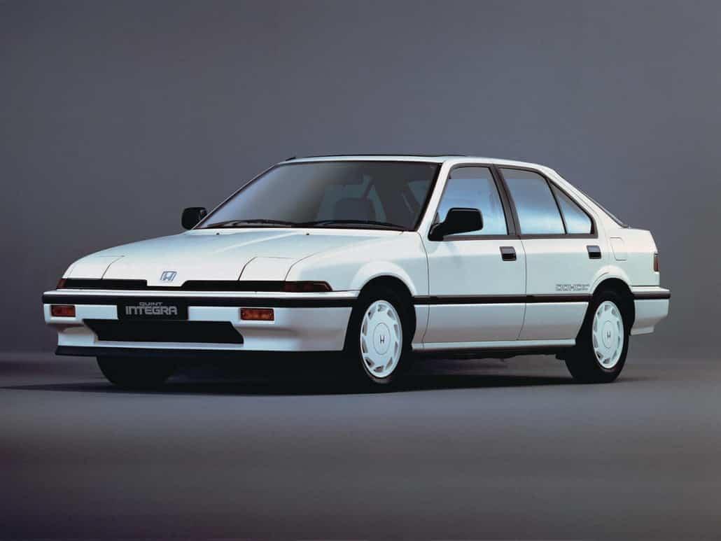 Honda Quint Integra liftback 5p 1985-1987 vue AV - photo Honda