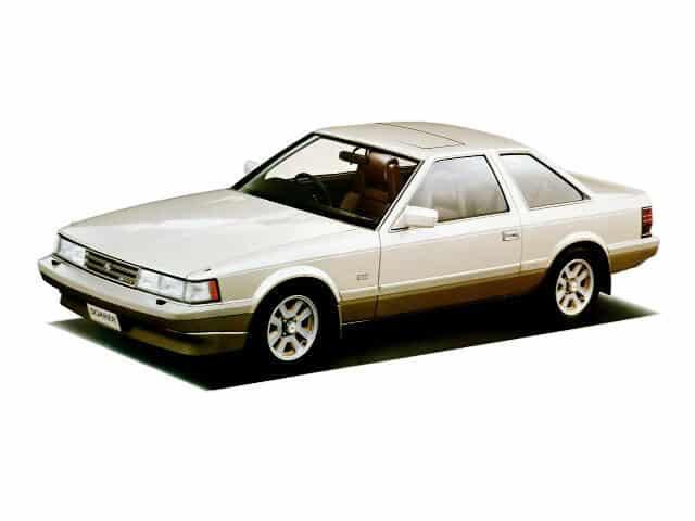 Toyota Soarer 1984-1985 vue AV - photo Toyota