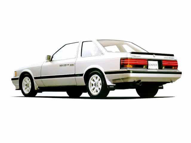 Toyota Soarer 1984-1985 vue AR - photo Toyota