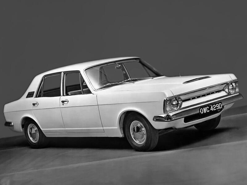 Ford Zephyr 1966-1968 vue AV - photo Ford
