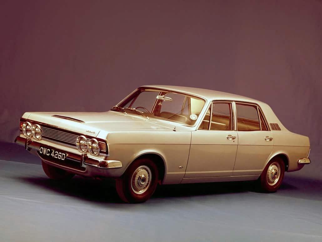 Ford Zodiac 1966-1968 vue AV - photo Ford