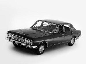 Ford Zodiac 1968-1972 vue AV - photo Ford