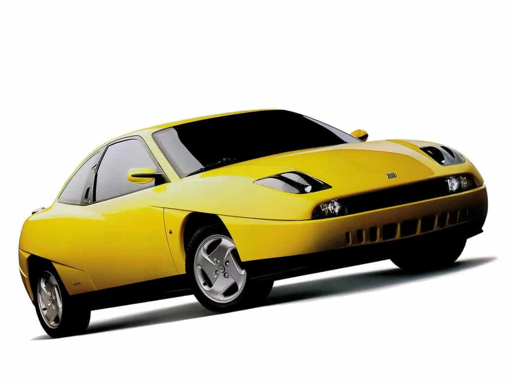 Fiat Coupé 1994-1996 vue AV - photo Fiat