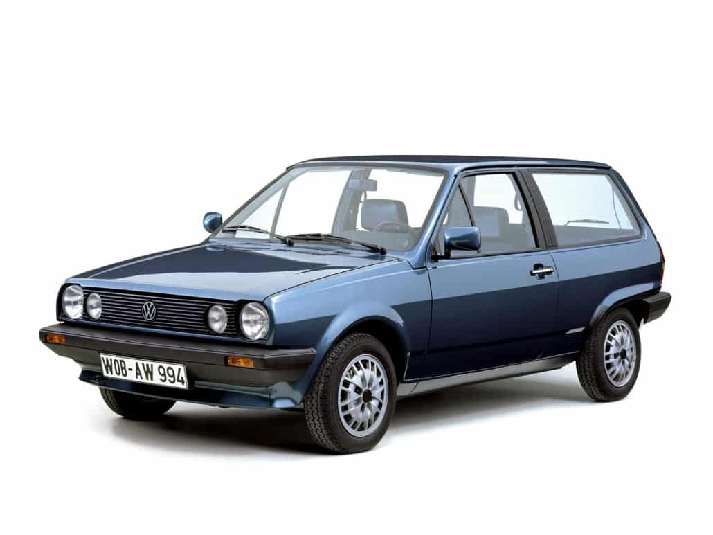 Volkswagen Polo hatchback 1981-1990 vue AV - photo Volkswagen