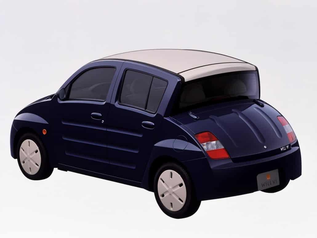 Will Vi 2000-2001 vue AV - photo Toyota