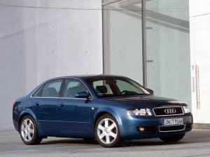 Audi A4 B6 2000-2004 vue AV - photo Audi