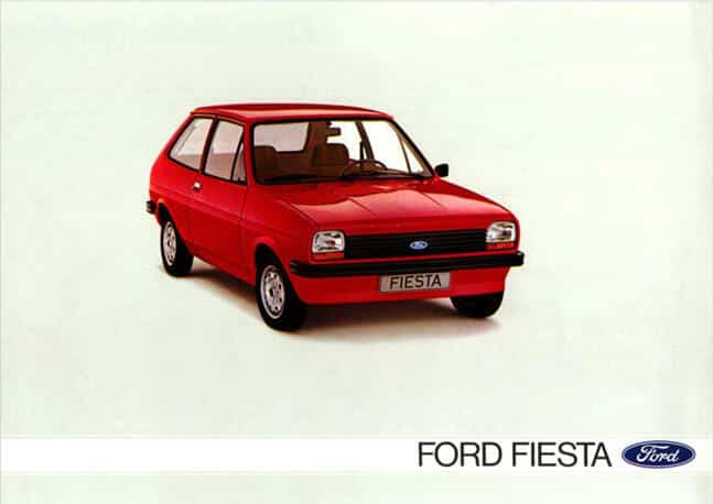 brochure Ford Fiesta MY 1978
