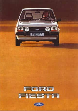 brochure Ford Fiesta MY 1982