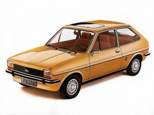 Ford Fiesta Ghia 1976-1981 - photo Ford