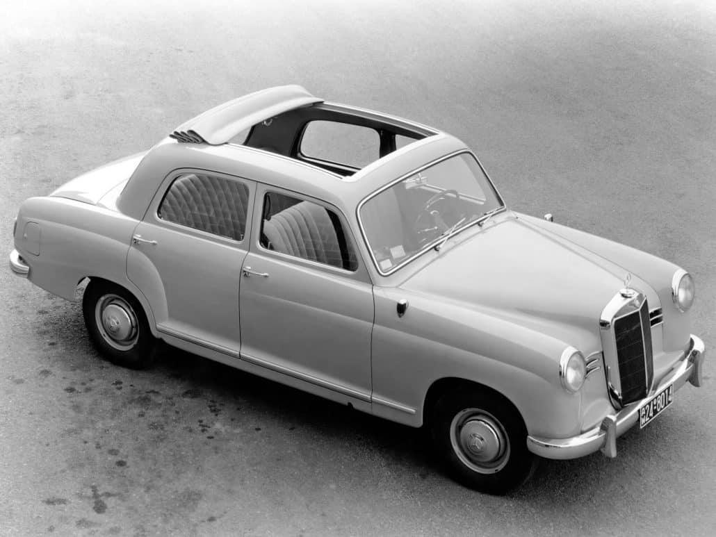 Mercedes Benz Ponton Histoire Et Fiche Technique Auto