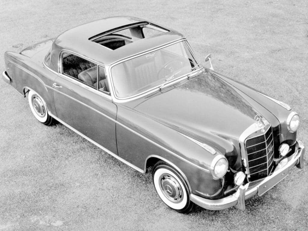 mercedes benz ponton coup constructeur allemand auto forever. Black Bedroom Furniture Sets. Home Design Ideas