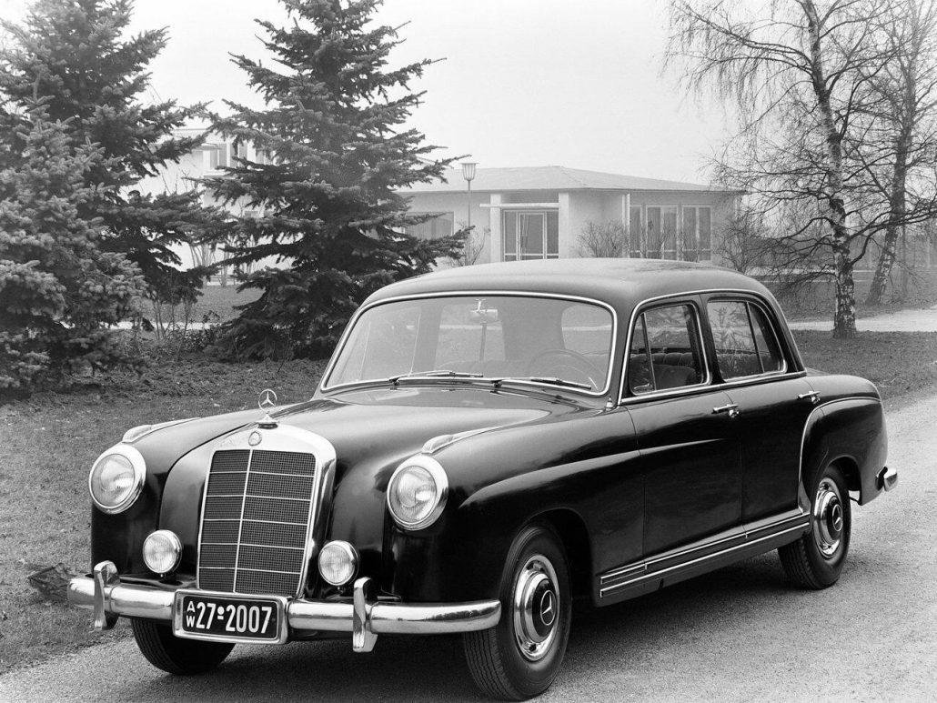 Mercedes benz ponton histoire et fiche technique auto for Mercedes benz for lease