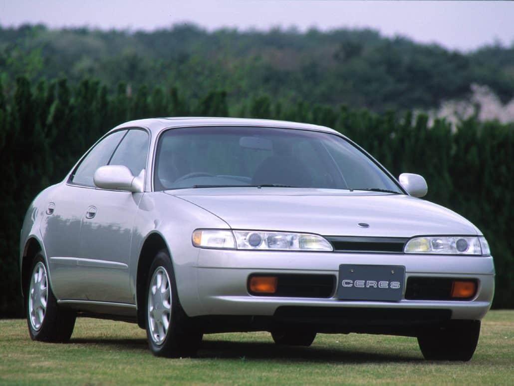 Corolla Ceres 1992-1994 vue AV - photo Toyota