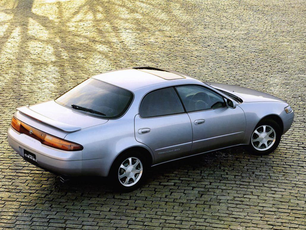 Corolla Ceres 1994-1998 vue AR - photo Toyota