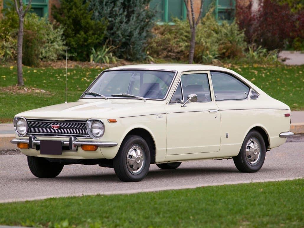Toyota Corolla Sprinter US 1969-1970 vue AV - photo Bill Petro