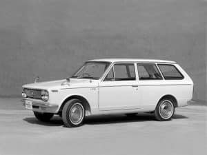 Toyota Corolla van 1966-1969 - photo Toyota