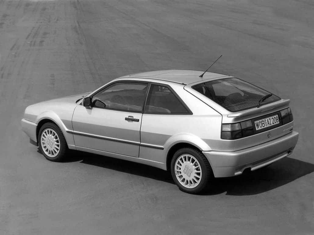 Volkswagen Corrado G60 1988-1991 vue AV - photo Volkswagen