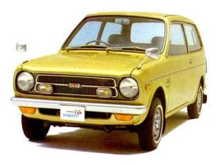Honda Life Wagon 1971-1974 vue AV - photo Honda