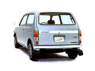Honda Life Wagon 1971-1974 vue AR - photo Honda