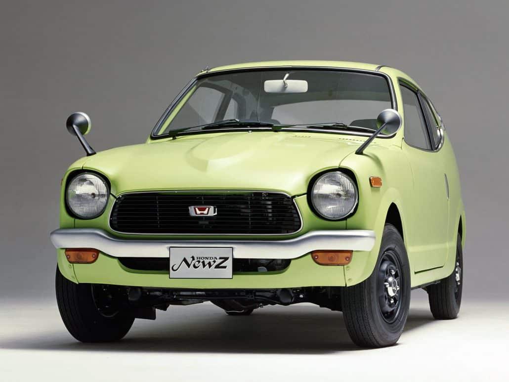 Historique Honda Z 1970-1972 fiche technique